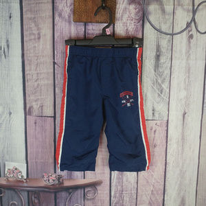 boys 18 month oshkosh blue red lined pants T15
